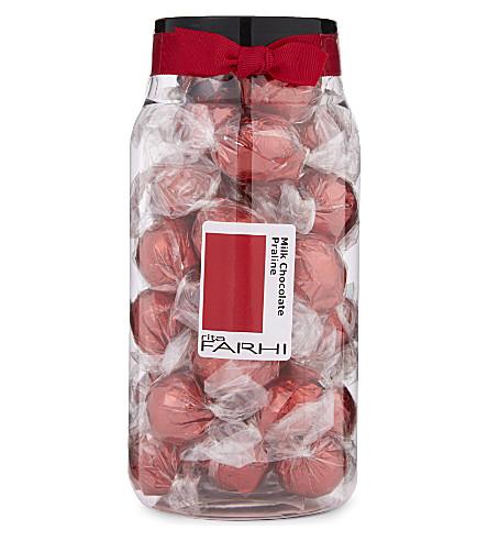 FARHI Milk chocolate praline balls 440g