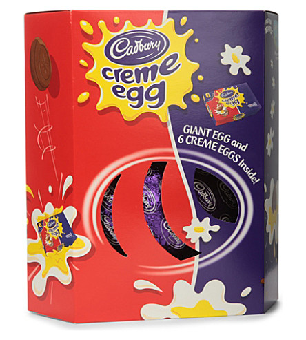 CADBURY Creme Egg Giant chocolate Easter egg 532g