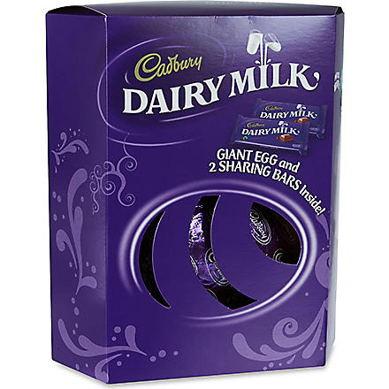 CADBURY Dairy Milk giant egg 535g