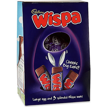 CADBURY Wispa hollow egg 313g