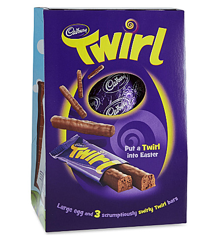 CADBURY Twirl large Easter egg 325g