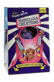 CADBURY Dairy Milk Marvellous Creations egg 291g