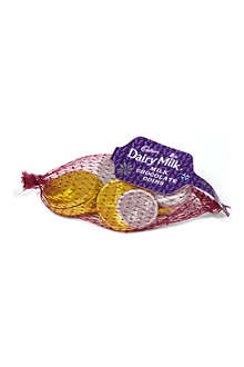 CADBURY Dairy Milk chocolate coins 59.6g