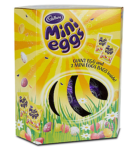 CADBURY Mini Eggs Giant Egg 496g
