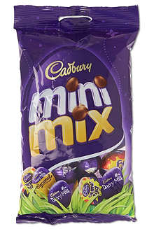 CADBURY Mini mix chocolate eggs bag 215g