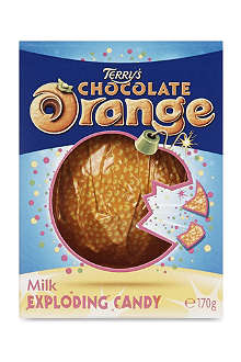 CADBURY Terry's Chocolate Orange Milk Exploding Candy 170g