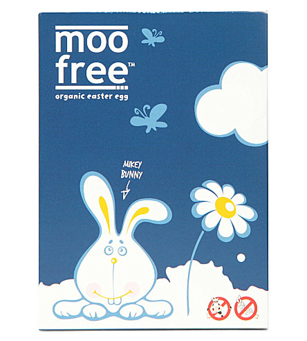 MOO FREE Organic dairy free Easter egg 100g