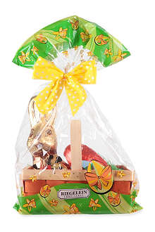 RIEGELEIN Milk chocolate Easter chocolates in basket 300g