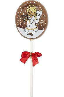 Decorated chocolate lolly 25g