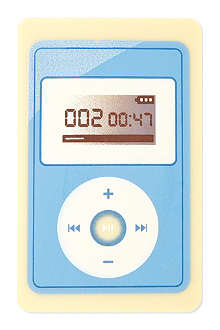Mp3 player chocolate bar 25g