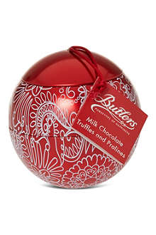 BUTLERS Bauble chocolate tin 150g