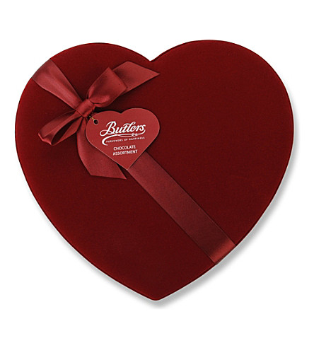 BUTLERS Velvet Heart box of chocolates 225g