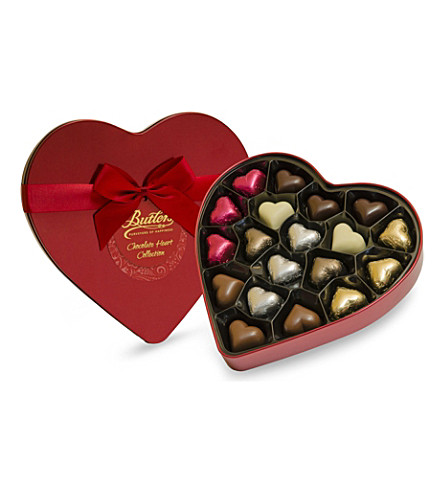 BUTLERS Butlers heart tin chocolate assortment 240g