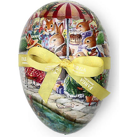 FARGA Praline Chocolate Easter egg tin 18cm