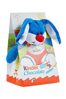 KINDER Fluffy spring plush with chocolates 84g