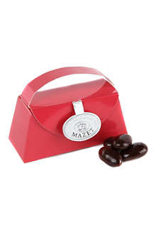 Dark chocolate almonds gift purse 65g