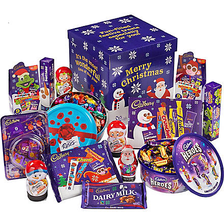CADBURY Family Christmas chocolate hamper