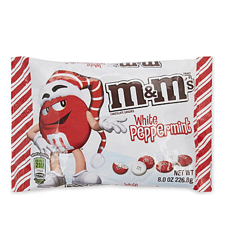 CHRISTMAS M&MS White Peppermint 226.8g