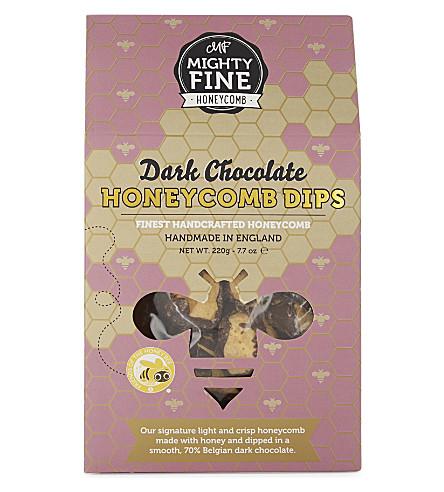 MIGHTYFINE HONEYCOMB Dark chocolate Honeycomb Dips