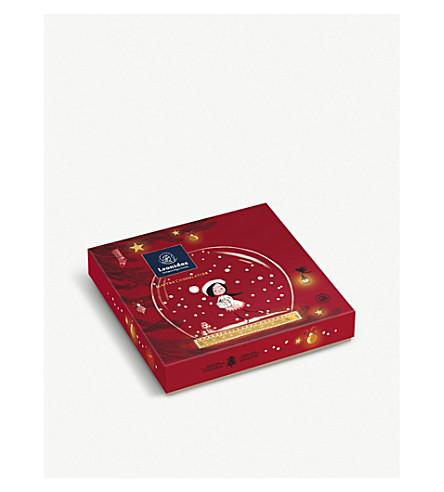 LEONIDAS Christmas chocolate gift box 19-pieces