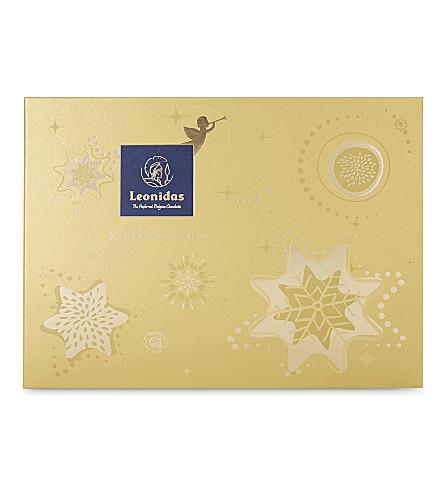 LEONIDAS 36 piece praline chocolate Christmas gift box 360g