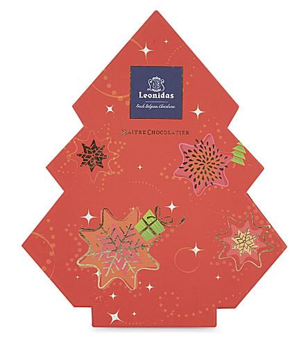 LEONIDAS Belgian chocolate Christmas tree 14-pieces