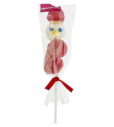 SWEET PEOPLE Snowman marshmallow lollipop 50g