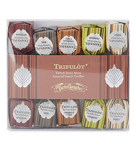 TARTUFLANGHE Assorted sweet truffles 70g