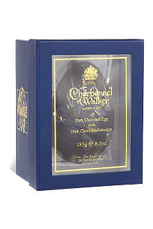 CHARBONNEL ET WALKER Dark chocolate Easter egg with dark chocolate selection 185g