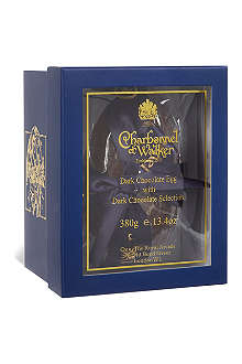 CHARBONNEL ET WALKER Dark chocolate Easter egg with dark chocolate selection 380g
