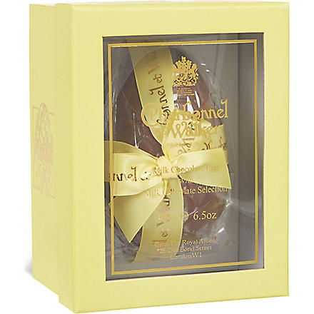 CHARBONNEL ET WALKER Milk chocolate egg with milk chocolate selection 185g
