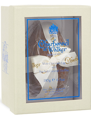 CHARBONNEL ET WALKER Milk chocolate egg with sea salt caramel truffles 185g