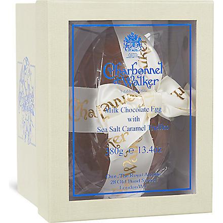 CHARBONNEL ET WALKER Milk chocolate Easter egg with sea salt truffles 380g