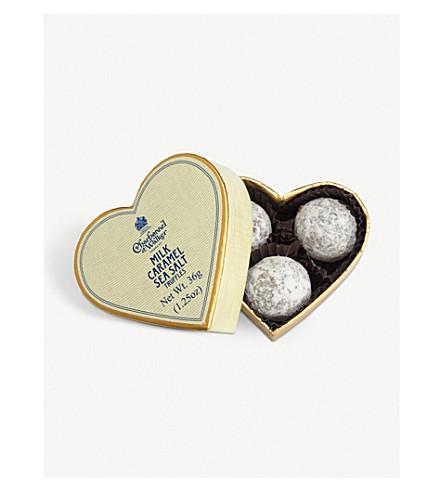 CHARBONNEL ET WALKER Sea salt caramel truffles