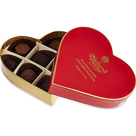 CHARBONNEL ET WALKER Dark & milk chocolate selection 100g