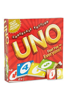 WHAT NEXT CANDY Chocolate Uno
