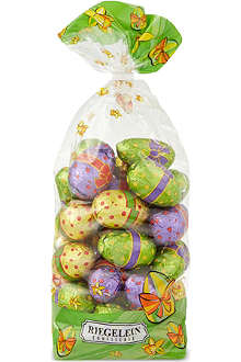 Easter bag with foiled chocolate eggs 400g