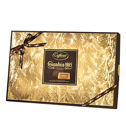 CAFFAREL Gianduia gold chocolate box 390g