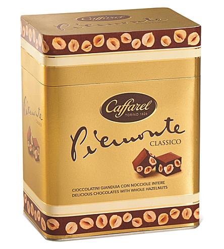 CAFFAREL Piemonte chocolates tin 260g