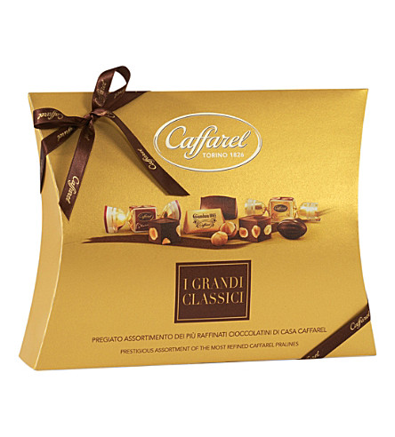 CAFFAREL Pochette chocolate selection box 330g
