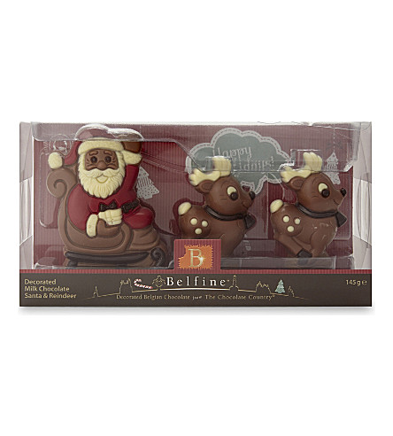 CHRISTMAS Santa Reindeer chocolate 166g