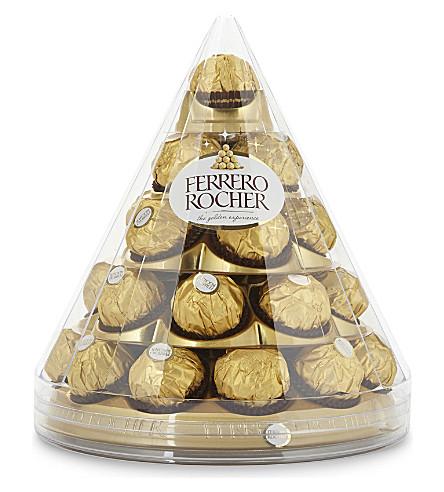 FERRERO 28 piece chocolate pyramid 350g