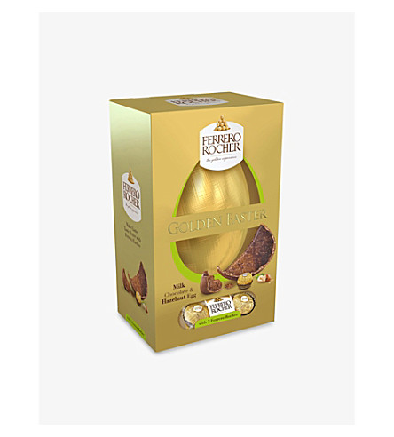 FERRERO Milk chocolate egg & Ferrero Rochers 275g