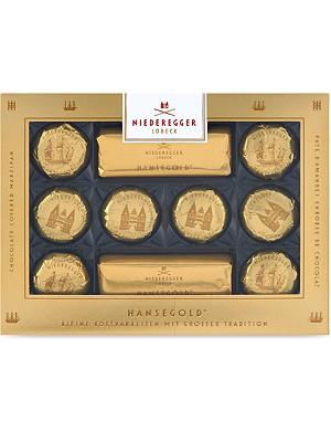 NIEDEREGGER Hansegold chocolate box 150g