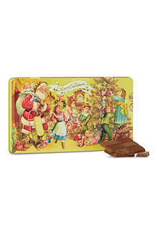 Christmas chocolate tin
