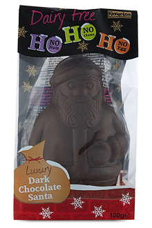 NONE Dairy free chocolate Santa 120g