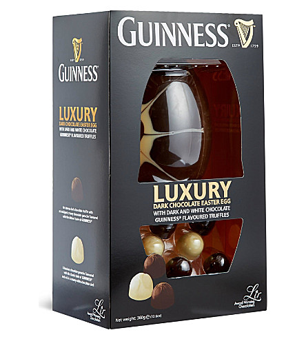 Guinness easter egg and truffles 360g selfridges guinness easter egg and truffles 360g negle Image collections