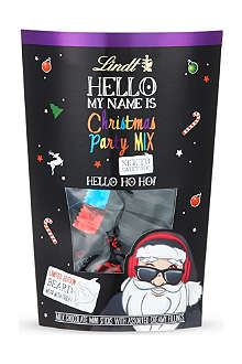 LINDT Hello My Name Is Christmas chocolate party mix 170g