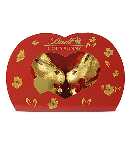 LINDT Kissing Gold Bunny chocolate 100g