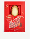 LINDT Lindor milk chocolate Easter egg and mini eggs 215g